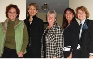 CPC's first Certification team at the home of Founder, Sharon Graham