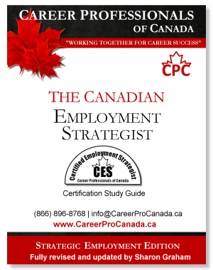 The Canadian Employment Strategist, Certified Employment Strategist (CES) Study eGuide (PDF)