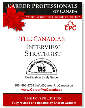 The Canadian Interview Strategist, Certified Interview Strategist (CIS) Study eGuide (PDF)