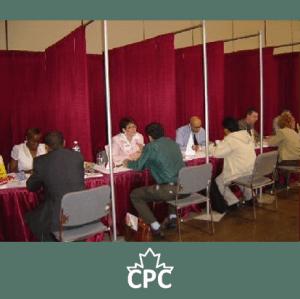 CPC Members volunteer at a job fair