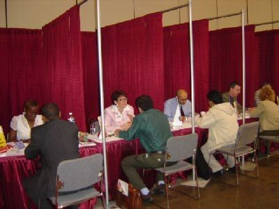 CPC giving back to the community at the National Job Fair