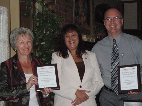CPC Awards of Excellence recipients