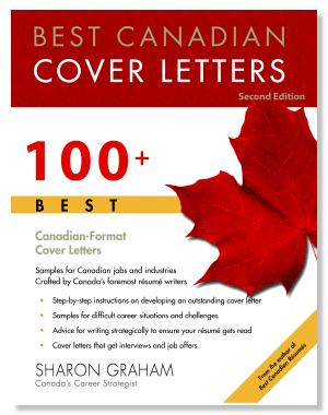 Best Canadian Cover Letters Sharon Graham Softcover Book - 100 ...