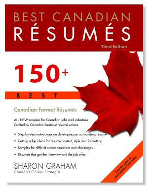 Best Canadian Resumes Sharon Graham Softcover Book - 150 Canadian ...