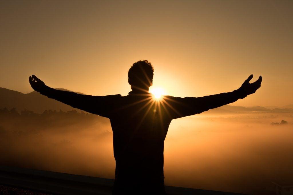 freedom, hope, new horizon, sunrise